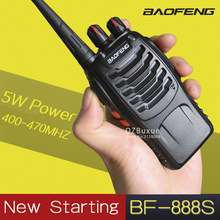 1 PCS Baofeng BF-888S Walkie Talkie 5W Handheld Pofung  UHF 5W 400-470MHz 16CH baofeng bf-888s Two way Portable CB Radio