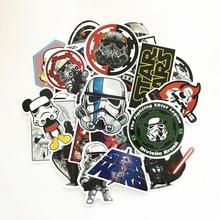 TD ZW 2018 25st Star Wars Stickers Dekal För Snowboard Laptop Bagage Bil Kylskåp DIY Styling Vinyl Heminredning Pegatina