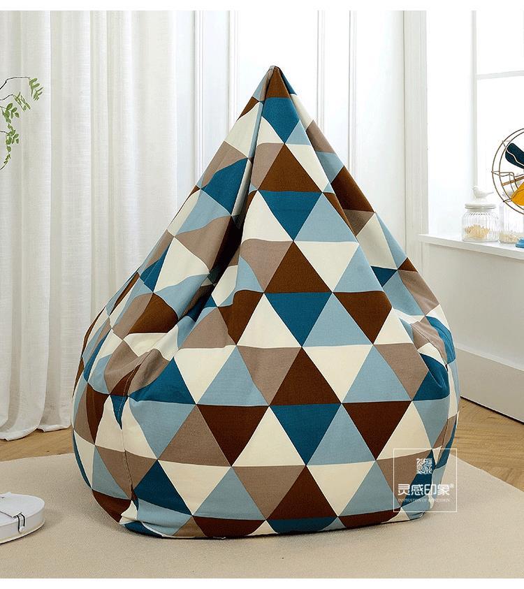 Surprising Diameter 120 Cm Polynesian Style Bean Bag Chair Garden Ibusinesslaw Wood Chair Design Ideas Ibusinesslaworg