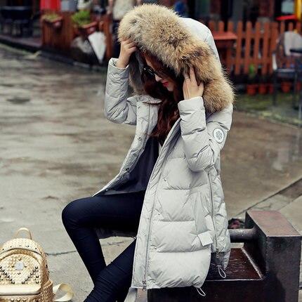 Manteaux Chaude Nouveau Naturel Canard De Laveur St497 Femmes Duvet Grey Fourrure Longue En 2018 Raton Blanc Manteau Plume Solide Doudoune aCaZ1nwq