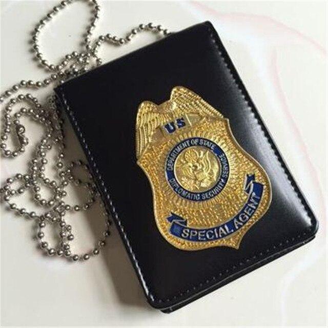 Значок специального агента и обложка для документов Форсаж
