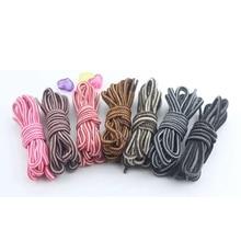 1 Pair Multicolor Round Shoelaces Outdoor Sport Casual Martin Boots Shoe Laces Sneakers Shoelaces Skate Boot Shoe Laces цена