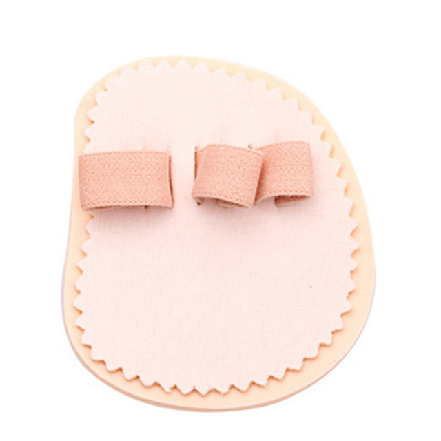 1 Pair Toes Overlap Hammer Toe Correction Pad Soft Bunion Splint Corrector Forefoot Mat Brace for Hallux Valgus Foot Care 5