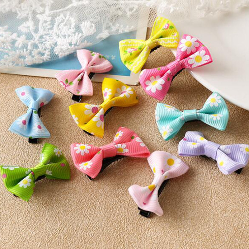 20pcs Children hair bow bangs hair clip store and purchase wholesale manufacturers A155B ...