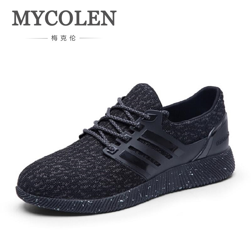 MYCOLEN New Fashion Casual Men Flat Sneaker Shoes Leather Breathable Men Lightweight Comfortable Outdoor Shoes Sapatos Homens 2017 fashion red black white men new fashion casual flat sneaker shoes leather breathable men lightweight comfortable ee 20