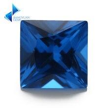 Размер 3x3 м ~ 10x10 мм 109 # синий квадратный синтетический