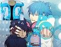 Athemis Dramatical Murder Seragaki Aoba Escudo Anime Cosplay Por Encargo Cualquier Tamaño de Alta Calidad