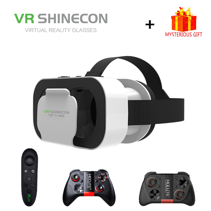 Expressive Vr Shinecon G05a Casque Headset Virtual Reality Glasses 3d Helmet 3 D Google Cardboard For Smart Phone Smartphone Goggles Mobile