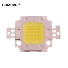 10PCS 16W LED light White 6000-6500K floodlight High power Lamp 1400mA 12.0-14.0V 1900-2100LM Epistar 33mil Chips Free shipping