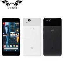 """Абсолютно """" ЕС Версия Google Pixel 2 128 Гб мобильный телефон Snapdragon 835 Восьмиядерный 4 Гб 64 Гб отпечаток пальца 4G смартфон"""