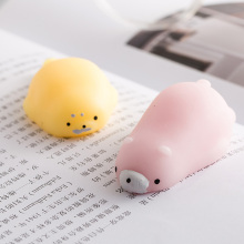 Squishy Cute toys Funny Kawaii Anti-stress Rabbit/cloud/cat/fox/seal slow rising Squeeze Stress relief Animal mochi phone gifts недорого