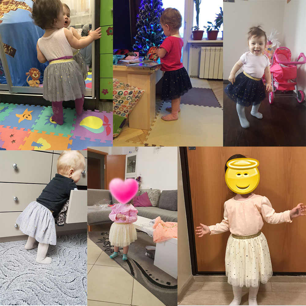 Baby Rokken Voor Meisjes Pettiskirts Tutu Vijf Sterren Gedrukt Baljurk Peuter Party Kawaii Kids Rok zomer Kinderkleding