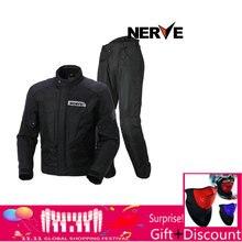 53109534b67 Nervio hombres Motocross Off-Road chaqueta Jaqueta Oxford impermeable motocicleta  Riding Racing Moto chaqueta con