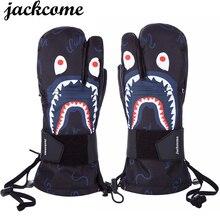 Winter Ski Snowboard Gloves Waterproof/Windproof  Men/Womens guantes skiing/Snowboarding Snowmobile Mitten SG1238-2