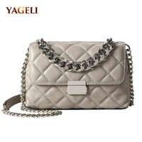 Genuine leather chain shoulder bags for women luxury handbags women bags designer 2018 fashion shoulder messenger bags for lady
