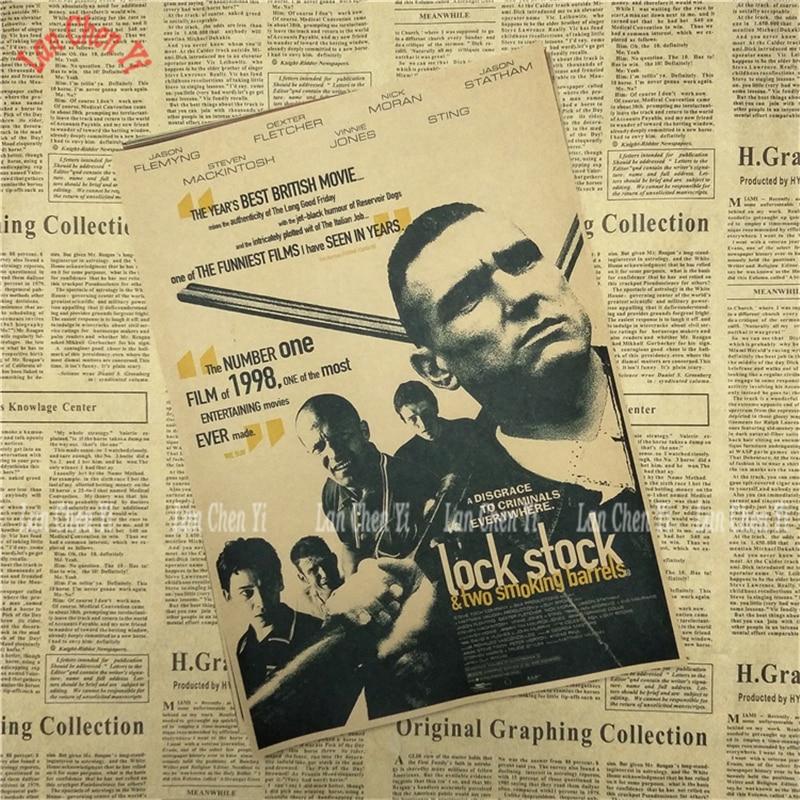 Dionice i dvije bare za pušenje Kraft Paper Poster Cafe Kreativne - Kućni dekor - Foto 4
