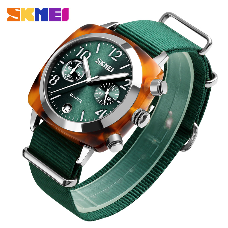 SKMEI Luxury Fashion Women Watches Men Quartz Wristwatches Waterproof Stopwatch Multi-dial Quartz Watches Relogio Feminino 9186