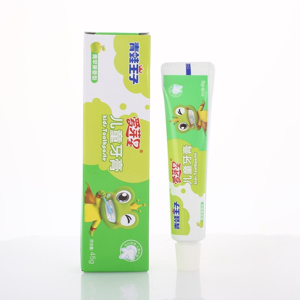 Милая зубная паста для младенцев 3 вкуса здоровое отбеливание детская зубная паста для зубной пасты Прямая