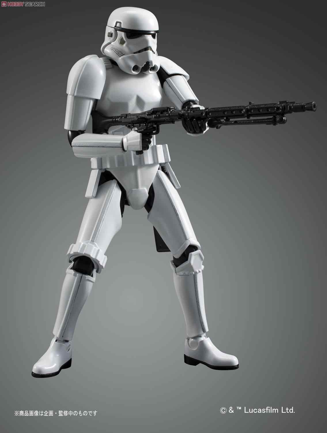 Bandai Star Wars 1/12 STORMTROOPER BUILD PACK Assemble Model Kits Action  Figures Plastic Model Toys