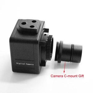 Image 4 - 5MP CMOS USB مجهر كاميرا الرقمية الإلكترونية العدسة سائق حر HD كاميرا صناعية للمجهر مجهر ثلاثي العينيات