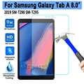 Vidrio templado para Samsung Galaxy Tab 8 2019 8,0 SM-T290 SM-T295 T290 T295 Protector de pantalla 9H 0,3mm tablet película protectora