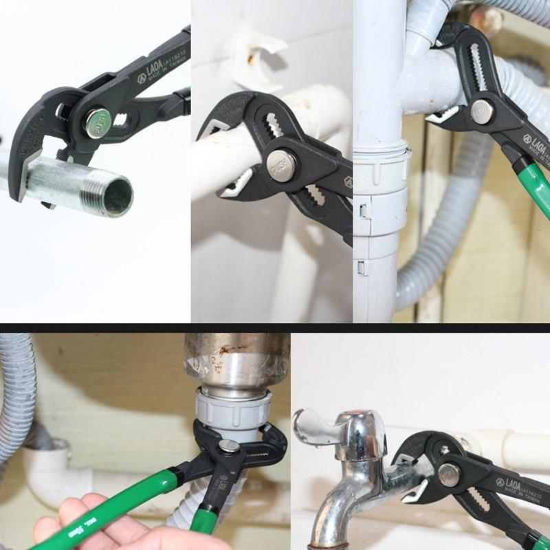 LAOA 10 palcové multifunkční kleště na vodní čerpadlo - Ruční nářadí - Fotografie 3