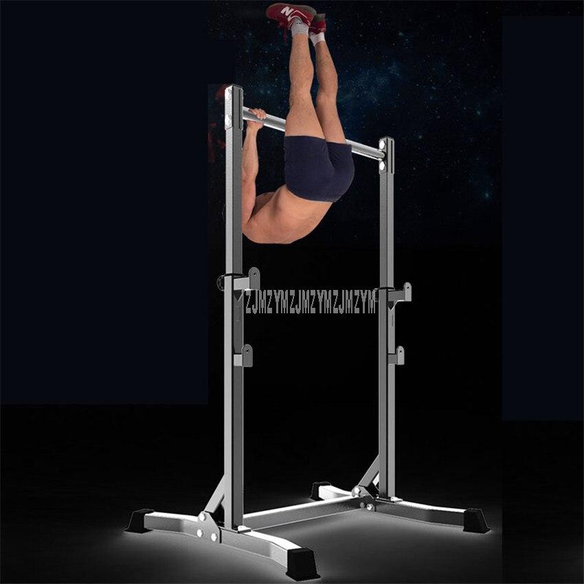 Exercício exercício queixo para cima puxar de cabeça para baixo piso barra horizontal estável interior esporte equipamentos de fitness ginásio equipamentos de exercício