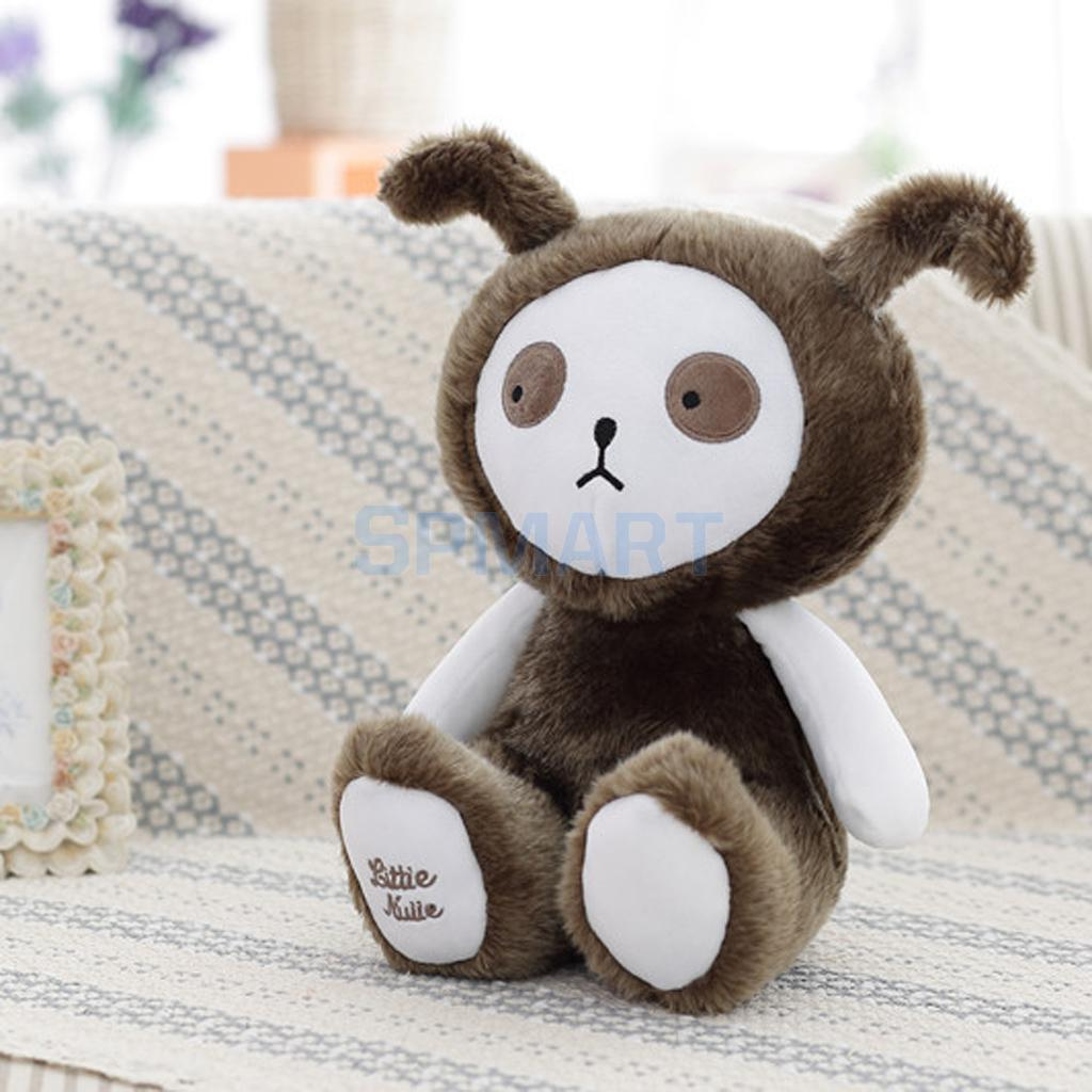 Kids Girls Play Soft Stuffed Furry Doll Kids Room Decor Creative Birthday Toy Gift