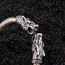 Viking Dragon Cuff Bangle