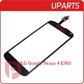 Original For LG Google Nexus 4 E960 Touch Screen Digitizer Outer Glass Sensor Black White free shipping + Tracking code