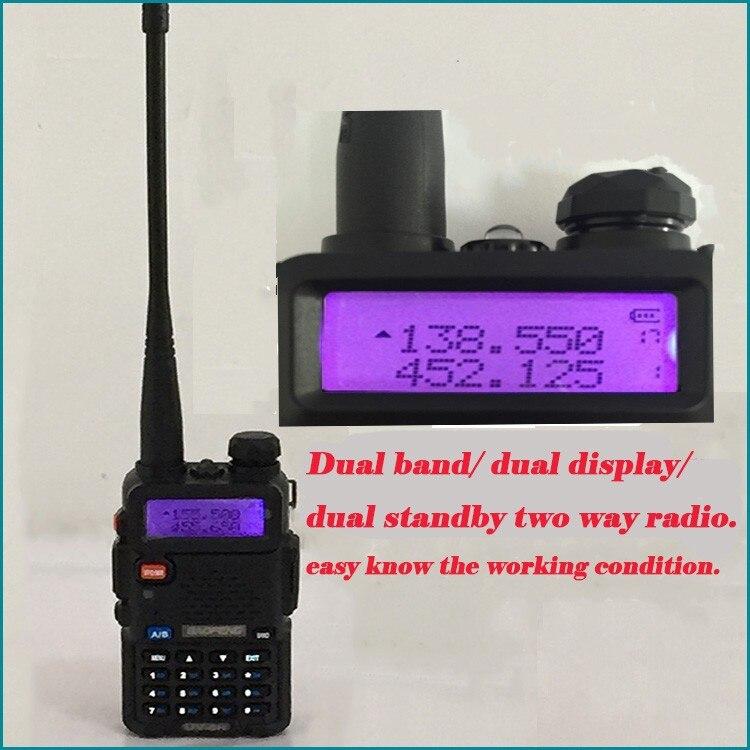 New Portable Radio Sets Police Equipment Bao Feng Walkie Talkie 10km For Amateur Radio pmr Station Radio Baofeng uv 5r Walk Talk (37)