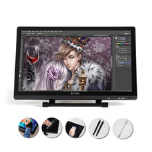 "XP-21.5 ""HD IPS de la Tableta Gráfica Interactiva Monitor Completo Ángulo de Visión Modo Extendido Pantalla para Apple Macbook compatible con HDMI"