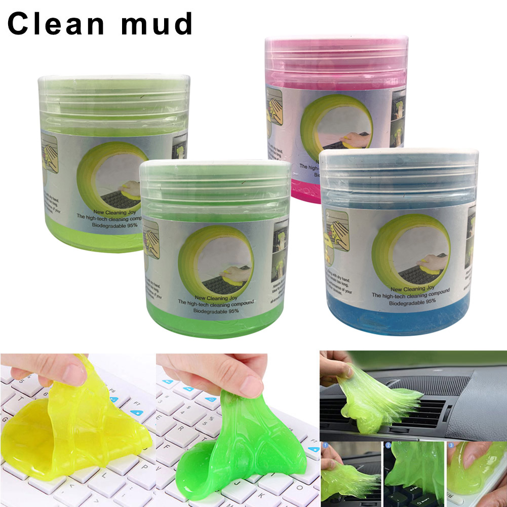 3Pcs Dust Cleaner Tool Magic Sticky Compound Super Clean Gel For Computer Car Keyboard EM88