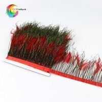 Новинка! Красивые натуральные Редкие фазаны с перьями павлина высота отделки 4-6 дюймов DIY Ювелирные изделия дизайн костюма аксессуары перья