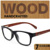 Деревянные очки кадр мужчины женщины очки деревянные рамы маркос де мадера gafas óculos мадейра QZ4810J