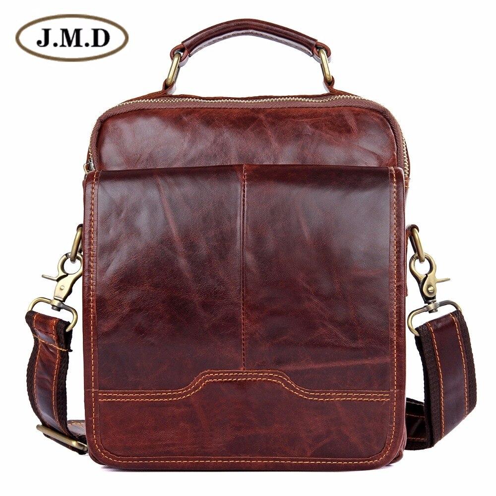 J.M.D Genuine Leather Mens Messenger Bag Vintage Sling Bag 1018QJ.M.D Genuine Leather Mens Messenger Bag Vintage Sling Bag 1018Q