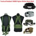 NUEVA Airsoft Tactical gear 1000D Nylon Molle Cintura Acolchada Correa Cummerbunds Correa Para Hombre tatico militar de Combate Del Ejército Batalla Cintel