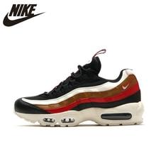 big sale 23e14 00b78 Nike Air Max 95 TT Pack chaussures de course à choc lent noir rouge pour  hommes
