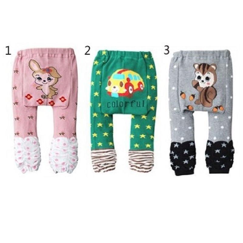 100% algodón Bebé Niñas Pantalones Ropa recién nacida Niños Pantalones Chica Leggings Pantalones infantiles legging para bebés