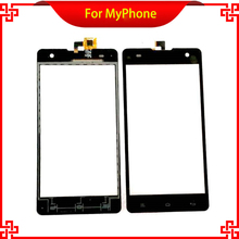 100% Original Touch Screen For MyPhone Cube Black Color Free Tools And Shipping