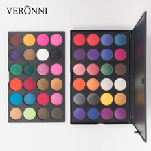48 Color Glitter powder Eyeshadow Palette VERONNI 2019 New Matte EyeShadow Make Up Professional Eye shadow Pigments