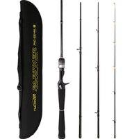 TSURINOYA PARTNER 4Sec 1.98m/ML/4 16g 2.13m/M/5 21g Fast Spinning Rod Casting Rod Baitcasting Fishing Rod Pesca Olta Cana Peche