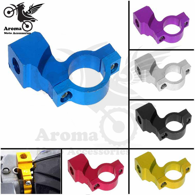 6 color available motorcycle rearview mirror mount 10mm motorbike mirrors mount Seat moto rear mirror mount Adapter Holder Clamp