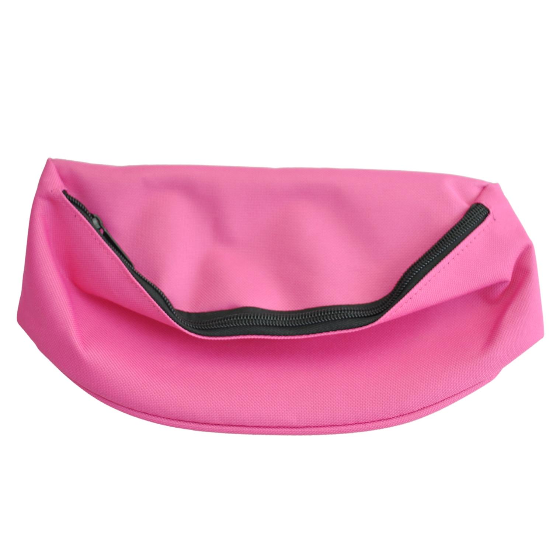 Bag Fanny Pack Hip Waist Festival Money Pouch Belt Wallet Holiday Kids Pink