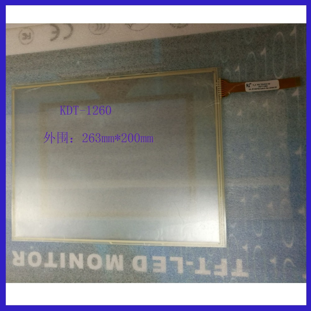 ZhiYuSun 10 inch  8 wire  TOUCH SCREEN 263mm*200mm   touch panel width 200mm length 263mm compatible KDT-1260 zhiyusun new266mm 207mm original handwritten12inch touch screen panel n7x0101 4201 ld on digital resistance compatible