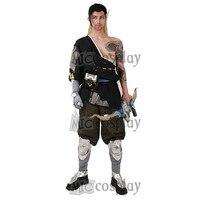 Hanzo Shimada Cosplay Costume Man Halloween Outfit