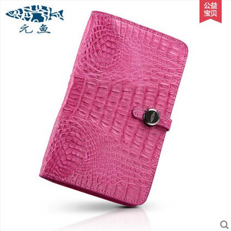 yuanyu 2018 hot new free shipping real crocodile women bag fashion women clutches new women wallet women purse yuanyu new crocodile wallet alligatorreal leather women bag real crocodile leather women purse women clutches