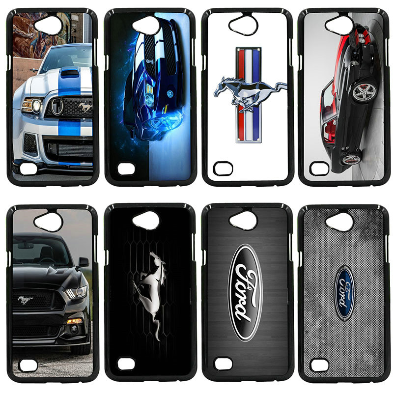 Hard PC Cover Phone Cases Love Ford Mustang Logo For LG L Prime G2 G4 G5 G6 K4 K8 K10 V20 Nexus 5 6 5X Google Pixel Shell