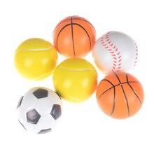 152268e48 1 pc Diâmetro 7 CM Espuma Macia Bola Bola de Tênis Basquete Futebol Bolas