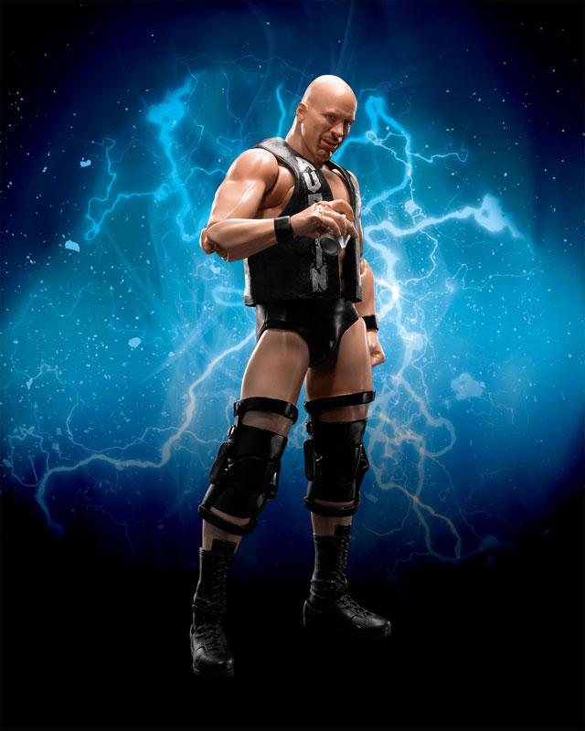 "Figuarts Stone Cold Steve Austin /""WWE Action Figure Bandai Tamashii Nations S.H"